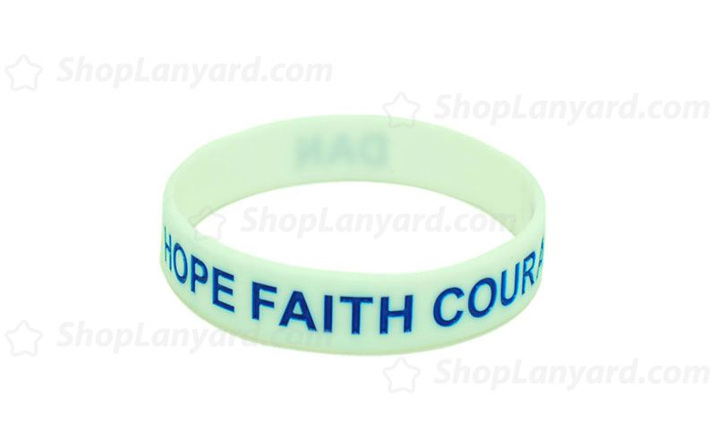 Off White Colorfilled Wristband-CFW12ASO