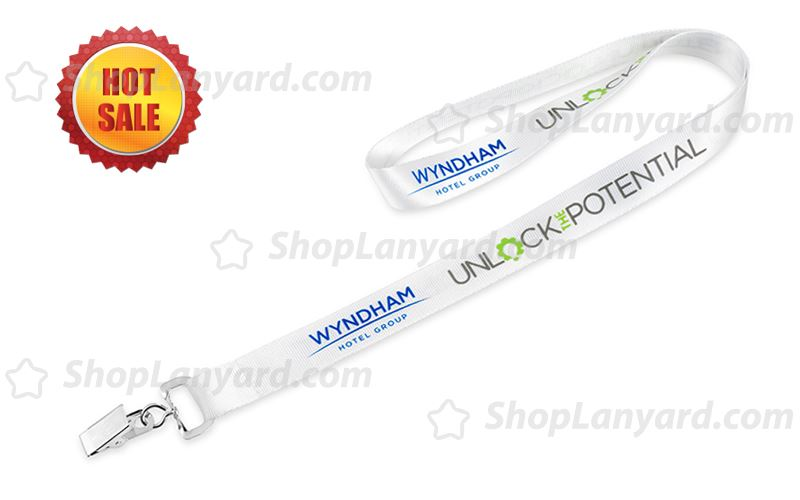 Nylon Imprinted Lanyard-NL20