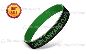 Dual Layer Silicone Wristband